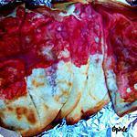 recette Quesadillas aux fraises sur le BBQ