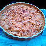 recette Tarte aux pommes et amandes simple et rapide