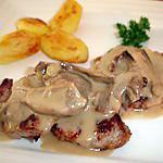 recette Filet mignon de porc sauce champignon bolet