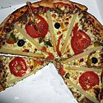 recette PIZZA FRAICHEUR (aussi pour végétariens/diabétiques)