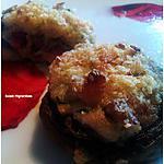 recette Champignons farçi aux lardons