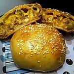 recette buns poulet olive fromage