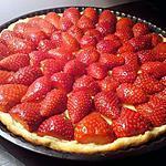 recette tarte aux fraise