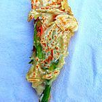 recette Fleurs de courgettes végétales
