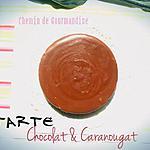 recette Tarte chocolat & caranougat