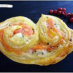 recette Palmiers au saumon