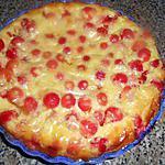 recette Clafoutis aux cerises du jardin