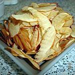 recette Epluchures de pommes : chips