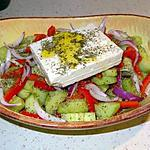 recette Salade Grecque