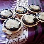 recette mini tartelette chocolat banane