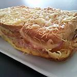 recette Croque cake (popotter par les mini topchefette)