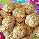 recette Cookies abricot & pépites de chocolat au lait