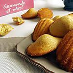 recette Madeleines au citron allégées - 41 kcal