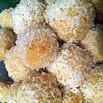 recette Boule de coco - Patisserie orientale