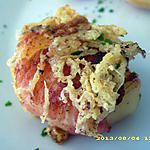 recette bouchées croustillantes au lard