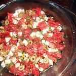 recette Tartare de tomates a la feta