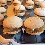 recette Macaron pomme & pain d'épice