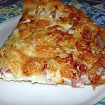 recette Quiche au jambon/bacon et aux 3 fromages