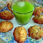 recette Madeleines aux oignons et lardons
