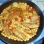 recette Poitrine d agneau aux coco de paimpol