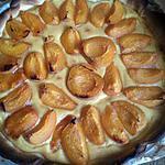 recette tarte crème patissière abricot