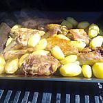 recette poulet blanc bio au barbecue