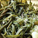 recette Haricots verts en salade et.....