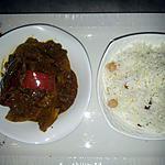 recette Riz et boeuf indien