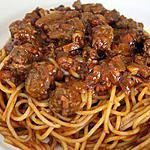 recette Spaghetti bolognaise 2ème version