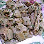 recette cotes de blettes persillées