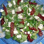 recette Salade de mache a la feta