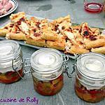 recette Quiche au chèvre, miel et lardons
