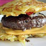 """recette """"Hamburger"""" de Pomme de Terre"""