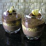 recette Duo de mousses crémeuses : figues et figues cuites citronnées