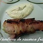 Saltimboca de saumon frais
