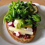 recette Bruschetta végétarienne