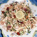 recette Salade de champignons aux tomates séchées
