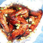 recette Ailes de poulet laqués