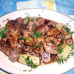 recette Rognon de veau sauce madére