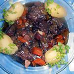 recette Queue de boeuf fondante au pinot noir