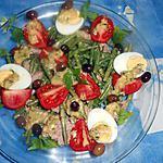 Salade d haricots vert au thon