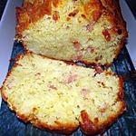recette cake parmesan et lardons