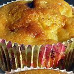 recette muffins aux pommes et aux daims