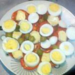 recette salade composée tomate