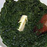 recette Tétragones (ou épinards) au beurre et à l'ail