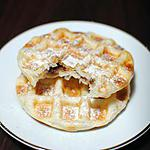 recette Gaufres feuilletées fourrées au Nutella