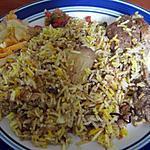 Briani poulet (riz épicé)