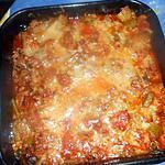 recette Gratin de céleri et chair a saucisse