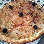 recette Tarte à l'oignons confits