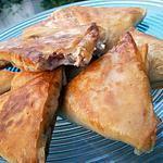 recette Samoussa au thon et boursin